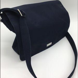 Ralph Lauren Navy Messenger Bag